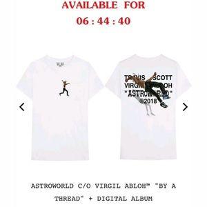 306d99a44432 Off-White Shirts | Astroworld Virgil Abloh X Travis Scott Szll ...